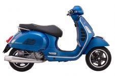 VESPA GTS JL GTS Long GUN STAINLESS POLISHED Exhaust